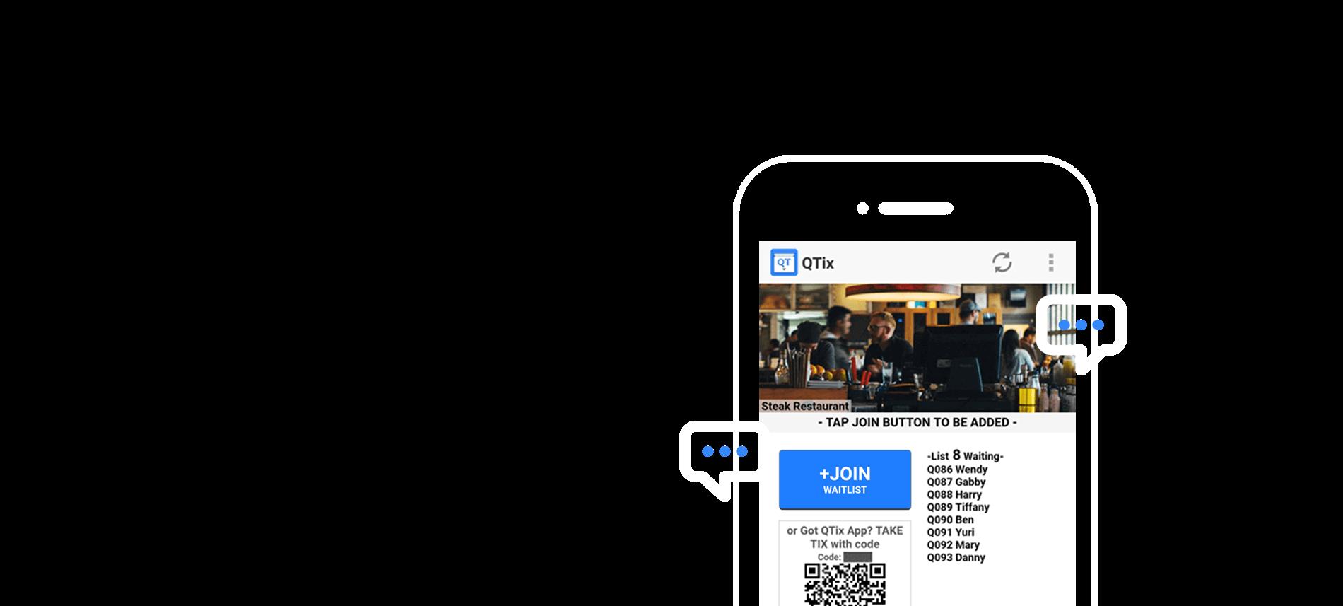 Qtix Queuetix Waitlist Booking Queue Management App